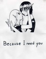 OC-Because I need you by HappyChan