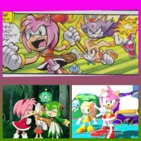 3 different versions of Team Rose by GregoryFields