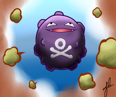 koffing by The-Bomb-Dot-Com