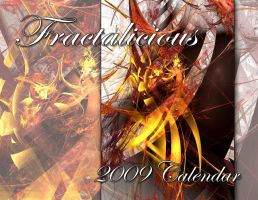 Calendar - Fractalicious 2009 by amberwind