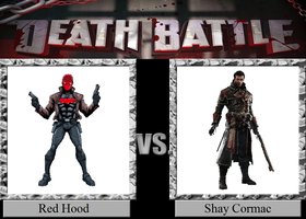 Red Hood vs. Shay Cormac by JasonPictures