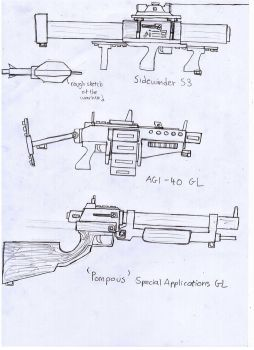 IRS Weapons Sheet (Explosive Launchers) by Target21