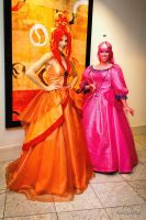 Hot and Sweet Princesses by AngelSamui
