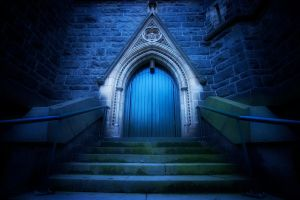 Church Door by KarlDawson