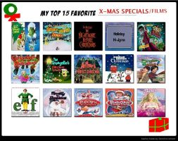 My Top 15 Favorite X-Mas Specials by PurfectPrincessGirl