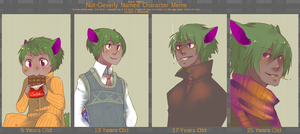 Age Meme: Russo by CookieHana