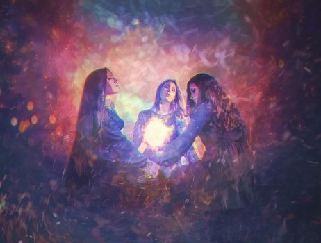 three sister witch by j-xonegraph
