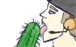 scout licking a cactus because i love myself by Pandroshyka
