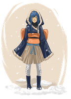 Souon's winter outfit by NeskaMD