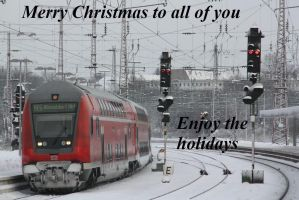 Merry christmas by Budeltier