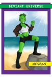DU Dec2015 Trading Card - Morgan by CrystalViolet500