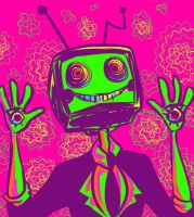 TV HEAD by Fuchi-Conejo