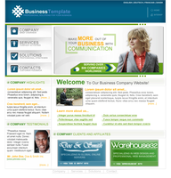 Business Template 1 by IdiocyX