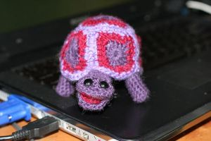 Granny Square Tortoise 2 by lycanthropica