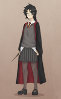Harriet aka Herrine. xD - Fem! Harry Potter by TheAngelCookie