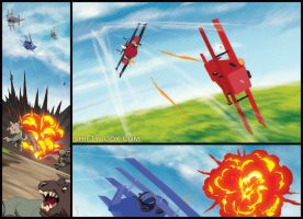 Explosions and Gunfire by theCHAMBA