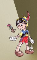 Pinocchio by cirgy