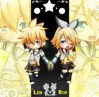 Voc: Kagamine L and R by Abhie008