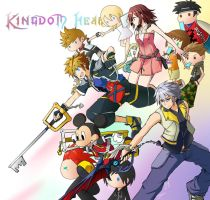 Collab: Kingdom Hearts II by Evelynism