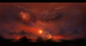 Scetch: Red Sunshine by Ti-R