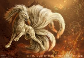 Ninetales by BlackMysticA