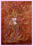 Fire: Lamia by blue-fusion