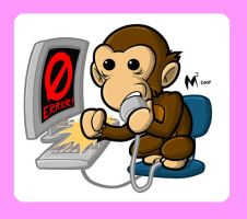 Digital Monkey by MattMoylan