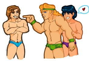 Herc overprotective super cute by Anjosguval