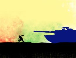 Who is Goliath now? by Free-Palestine