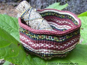 Alaska Mother Earth Basket by alaskabaskets