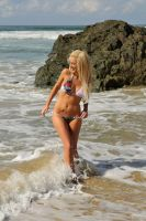 Kristy hits the beach 1 by wildplaces