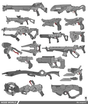 Node world weaponery mixed by DavidSequeira