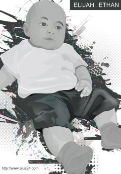 Illustration of my son. by pius24