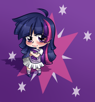 Human Twilight Sparkle by secret-pony