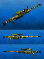 RG SR 1-51 Railgun Sniper Rifle by Raven-Gold