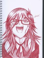Grell Excitement by Gotashi-Chan
