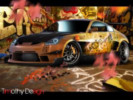 Nissan 350Z Tuning by Adry53