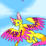 BIRTHDAY PEZzz by xrabbit