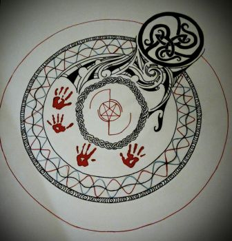 Circle of Summoning: Carreau by MortNevermore