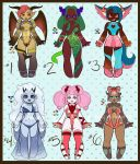 Demon Group 1 Sheet: Points or Paypal [OPEN] by ayayue-adopts