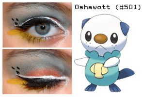 Pokemakeup 501 Oshwatt by nazzara