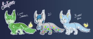 Soulkeeper Batch 1 - Auction - 1/3 OPEN by LupusSilvae