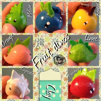 Fruit Dinos by Chella13