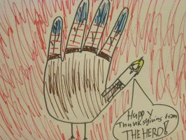 America Hand Turkey by XEPICTACOSx
