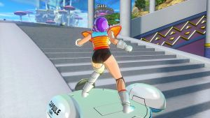DBXenoverse 2: Flying around in Coton City by Evil-Black-Sparx-77