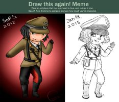 Draw it again! meme by thelittleanimals