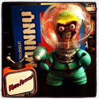 Mars Attacks! Martian Soldier by sillysyd