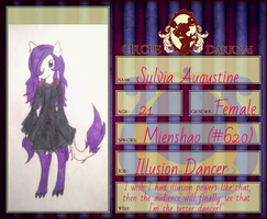 New Circus Darkrai App: Sylvia by MysticFlygon