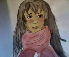 Scarf Watercolor by Paige-Scrittrice