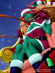 Merry X-mas from Ms Martian by chou-roninx